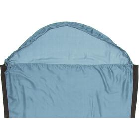 Sea to Summit Silk Stretch - Drap de sac de couchage - Mummy with Hood bleu